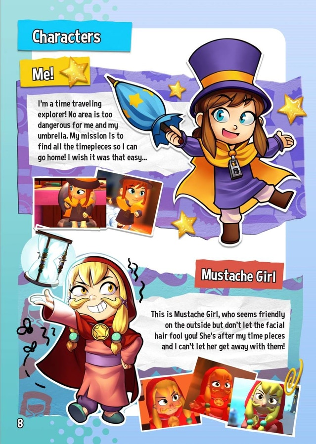 A Hat In Time 3d Collect A Thon Platformer By Gears For
