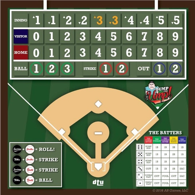 Shared Board Cause To Pause: Dump The Ump!® By Al Barnes