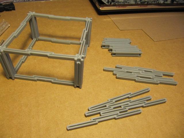 Frame Werx Affordable Modular Building Dungeon Kit Files
