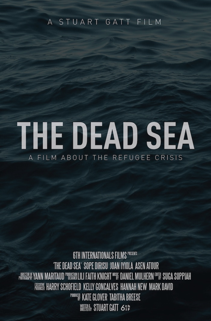 Fundraising Campaign for The Dead Sea (formerly Clandestine), the Refugee Film by Stuart Gatt in association with Doctors Without Borders and HRAS.