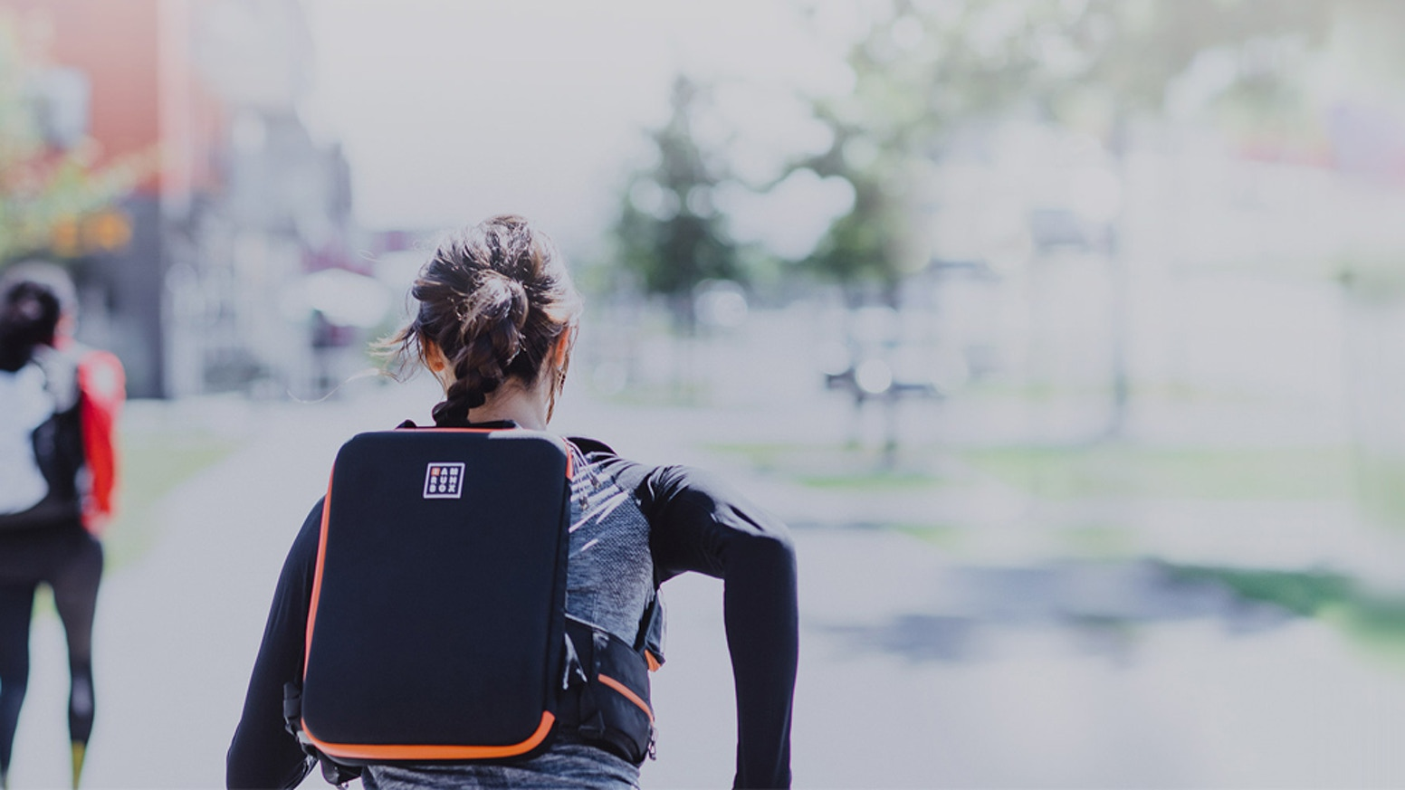 A World's First: the backpack to keep work clothes crease-free whilst you keep active, fit and healthy. The solution for busy lives.