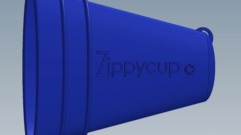 Zippycup - a never-throwaway runner's drink cup project video thumbnail