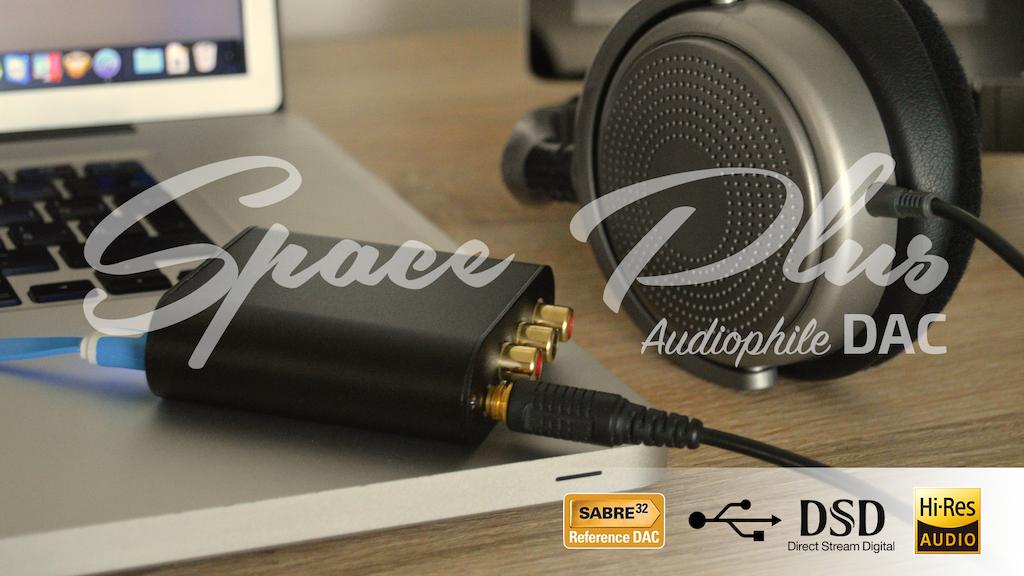 Space Plus - ESS Sabre32 DSD/DXD asynchronous USB DAC project video thumbnail