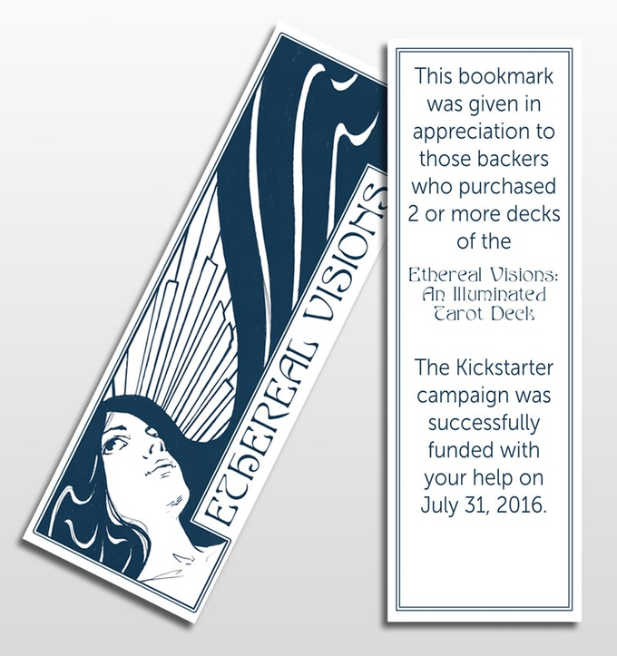 FREE Bookmark with every purchase of 2 or more decks