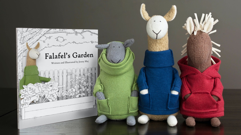 Falafel's Garden: Eco-friendly Children's Book and Plush project video thumbnail