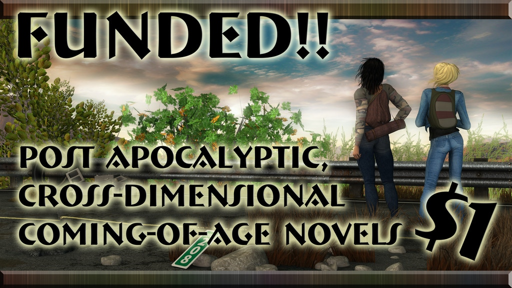 Post-Apocalyptic, Cross-Dimensional Coming-of-Age Novels project video thumbnail