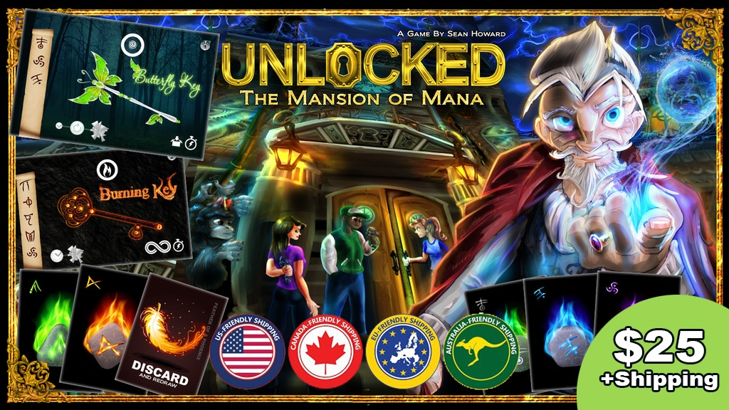 Unlocked: The Mansion of Mana project video thumbnail