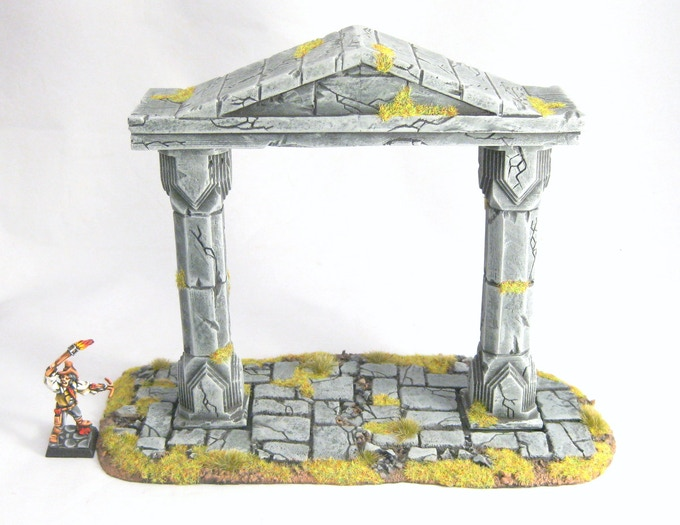 The Temple Arch.