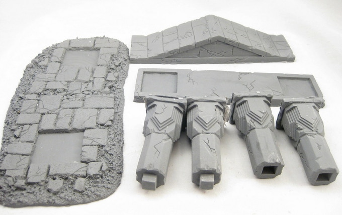 The Temple Arch is a 7-piece kit and requires assembly.
