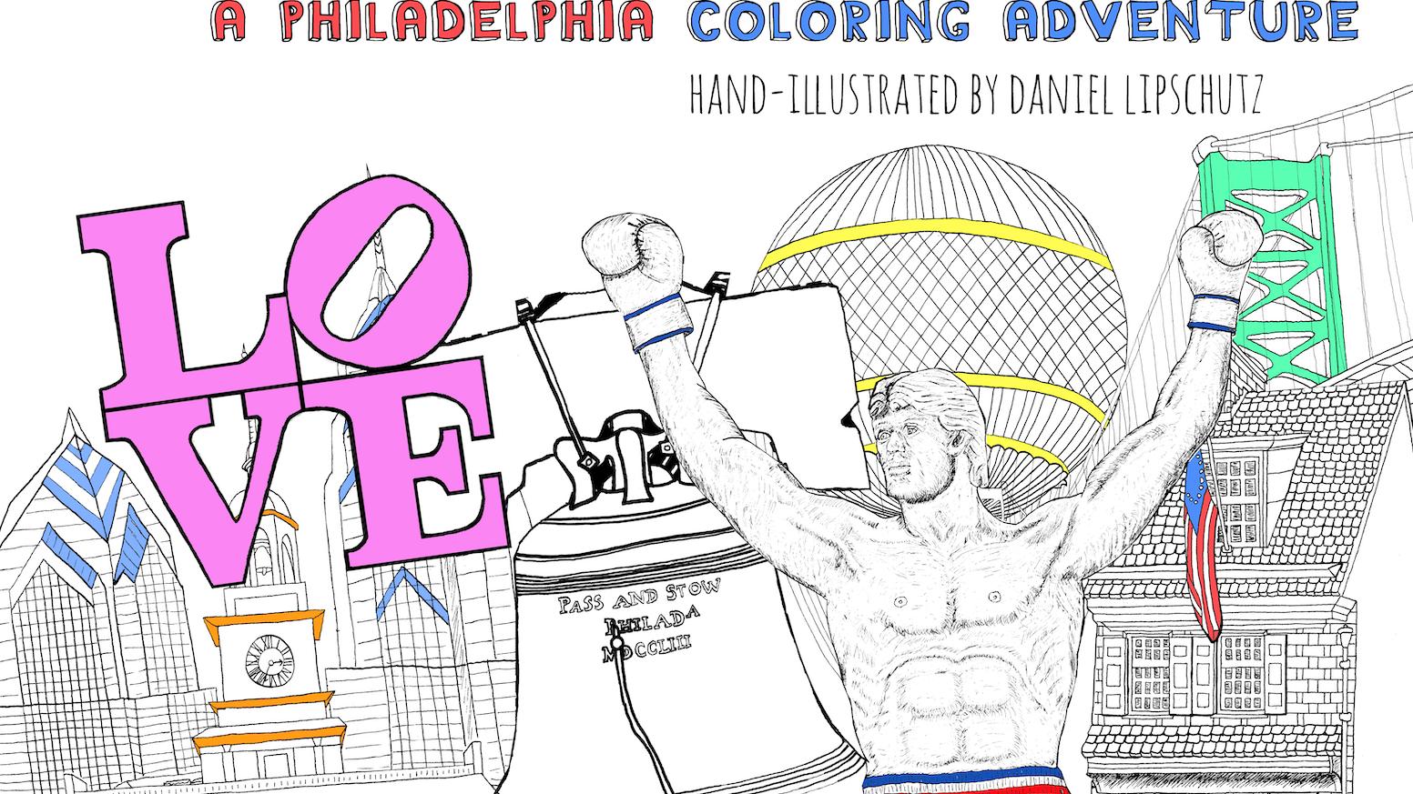 WonderPHL World - A Philadelphia Coloring Adventure by Daniel ...