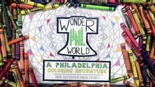 WonderPHL World - A Philadelphia Coloring Adventure
