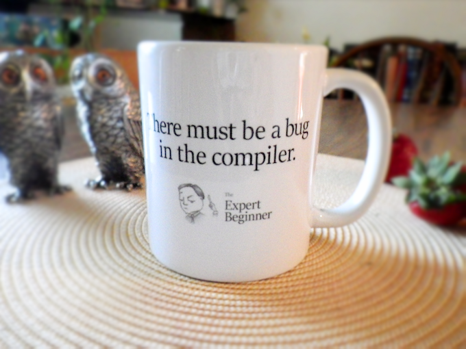 Totally not the mug you will be getting.