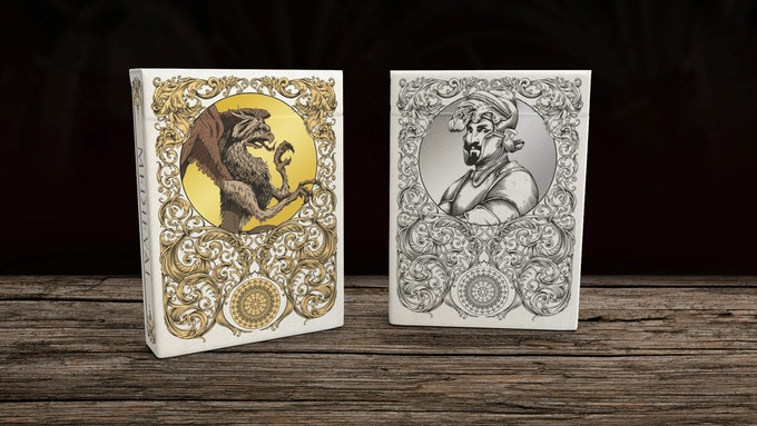 Silver and Gold edition decks with Foil (to be unlocked!)