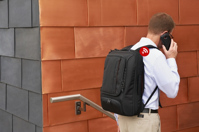 The TLS Connect keeps you and your belongings connected through your mobile phone.