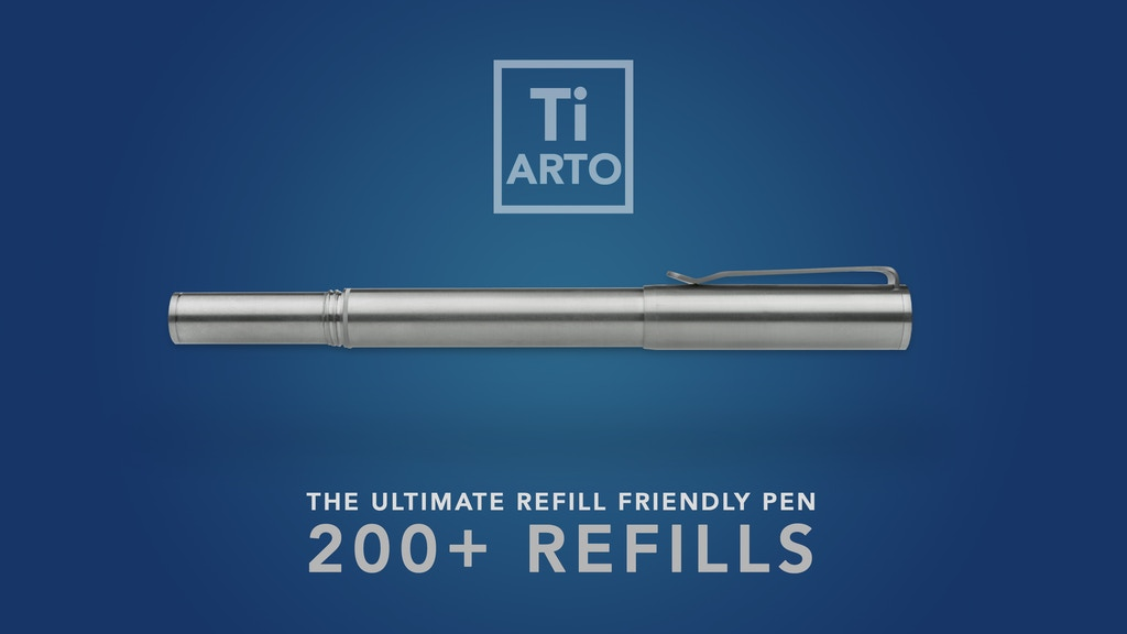 Ti Arto : The Ultimate Refill Friendly Pen project video thumbnail