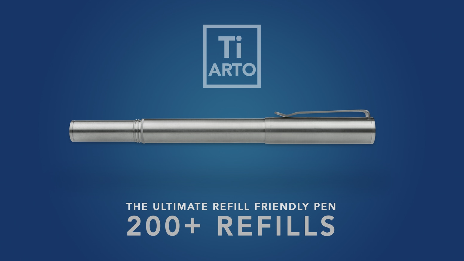A timeless solid titanium pen that accepts over 200+ refills w/o any modifications, hacks, or tip wiggle + Free world wide shipping!