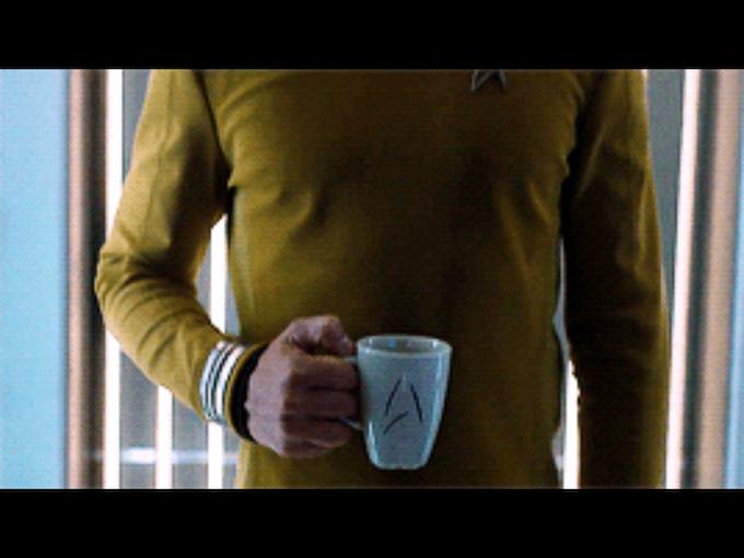Captain Kirk S Beyond Mug By Brady Earl Kickstarter