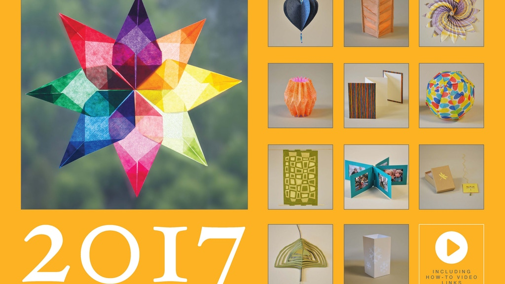 Twelve Months of Paper Calendar project video thumbnail