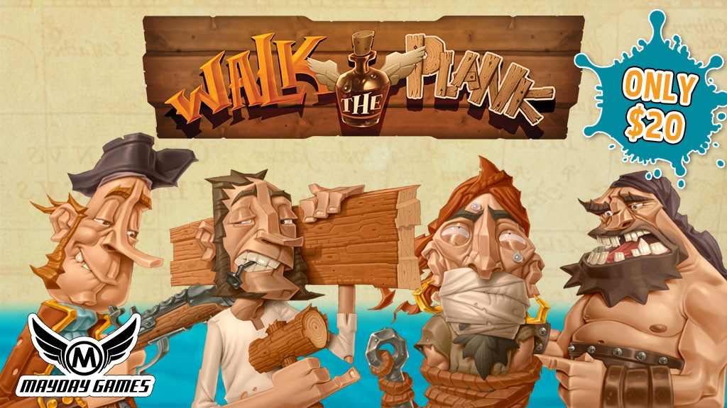 Walk The Plank: Special Tin Edition 3-5 Player Hit Game! project video thumbnail