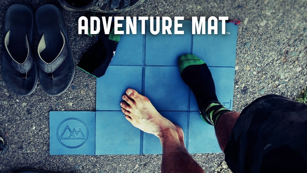 ADVENTURE MAT: A Clean Surface Wherever You Go project video thumbnail