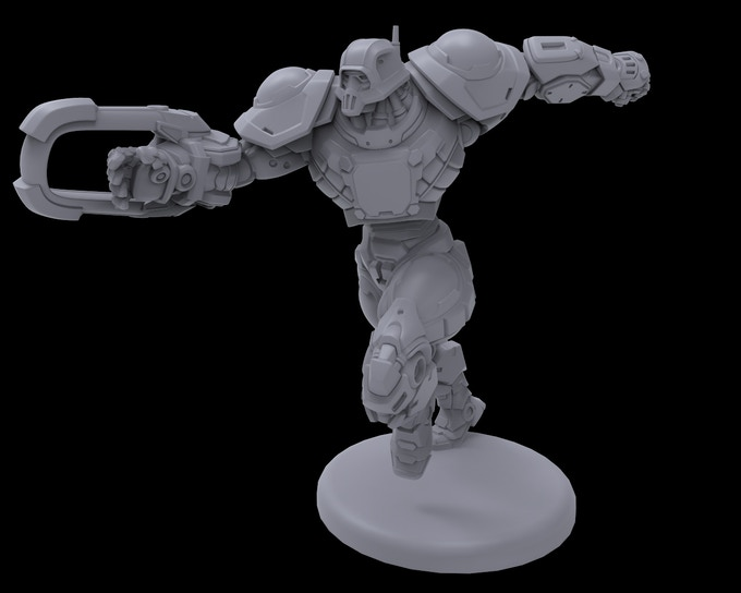 Draconis All-Stars Striker - Work-In-Progress