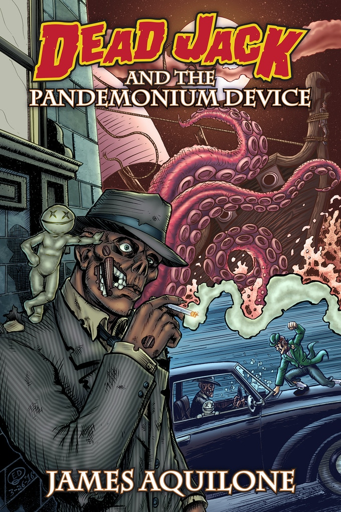 Dead Jack and the Pandemonium Device cover by Ed Watson
