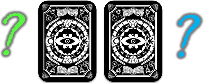 2 Exclusive cards. The final designs will be voted on by the backers in the Infernal Club Design Committee.