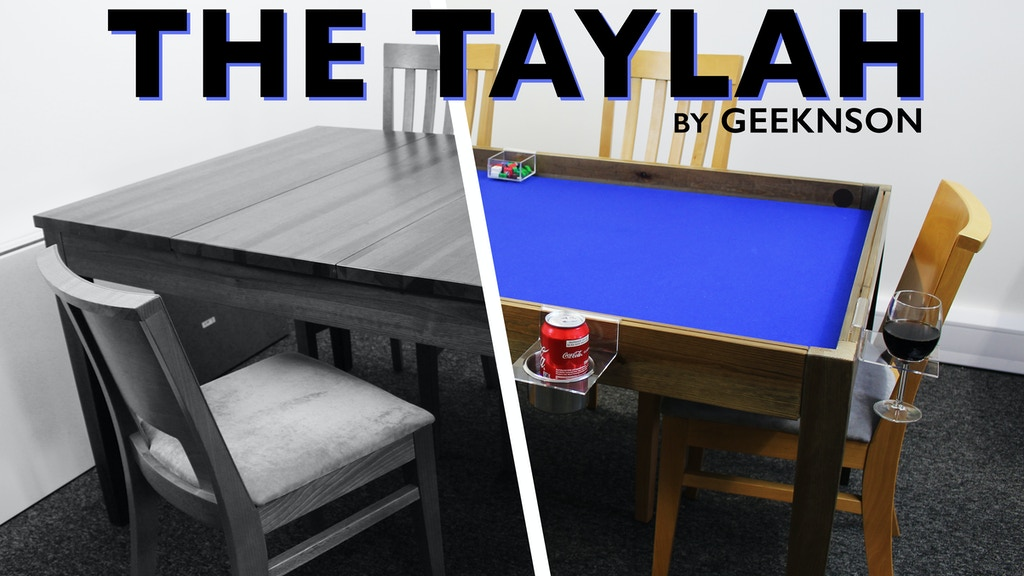 The Taylah - one table for everyone project video thumbnail