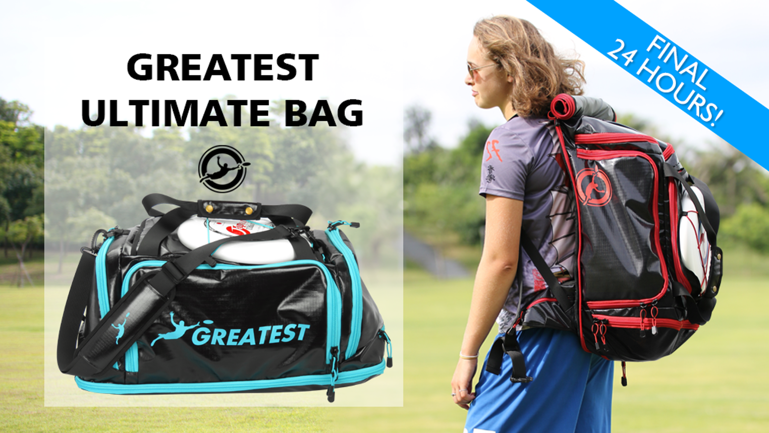 Don't waste time or energy on bags designed for other sports - keep your gear dry, organized, and in ultimate style.