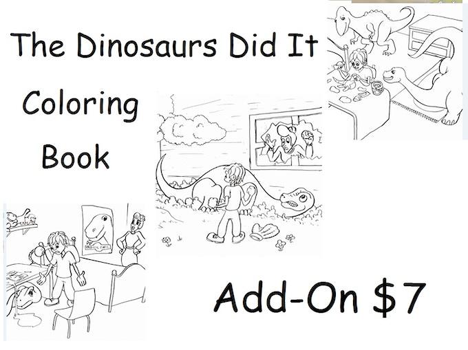 The Dinosaurs Did It by Amanda Bowyer —Kickstarter