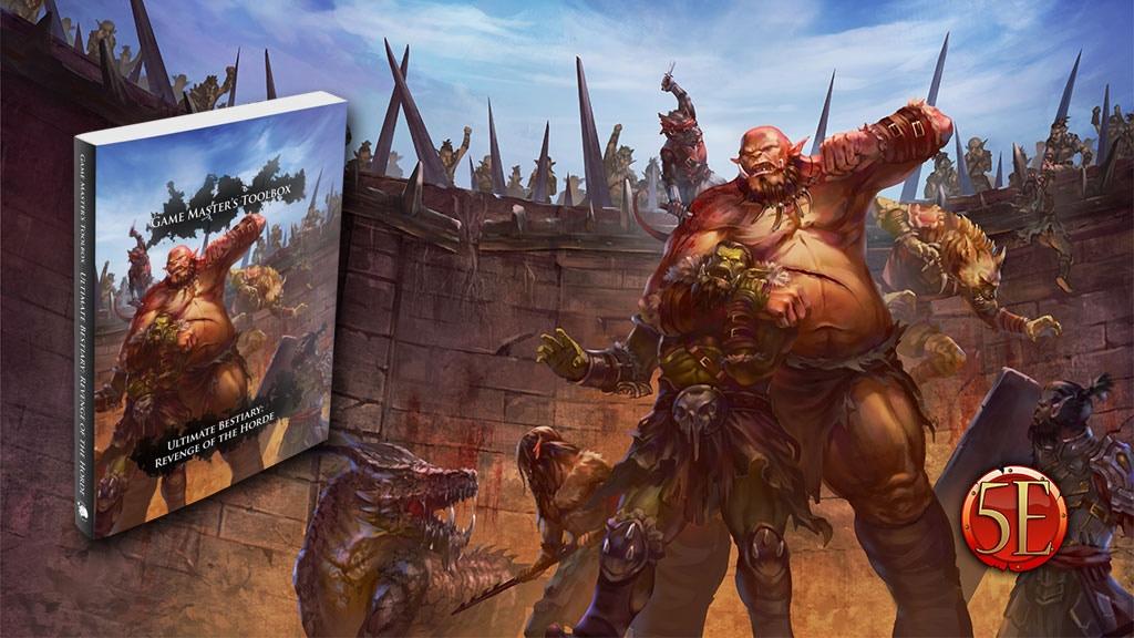Ultimate Bestiary: Revenge of the Horde! New 5E Monsters! project video thumbnail