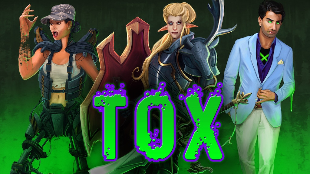 Tox RPG: A Storytelling Game of Super Powers... and Curses project video thumbnail