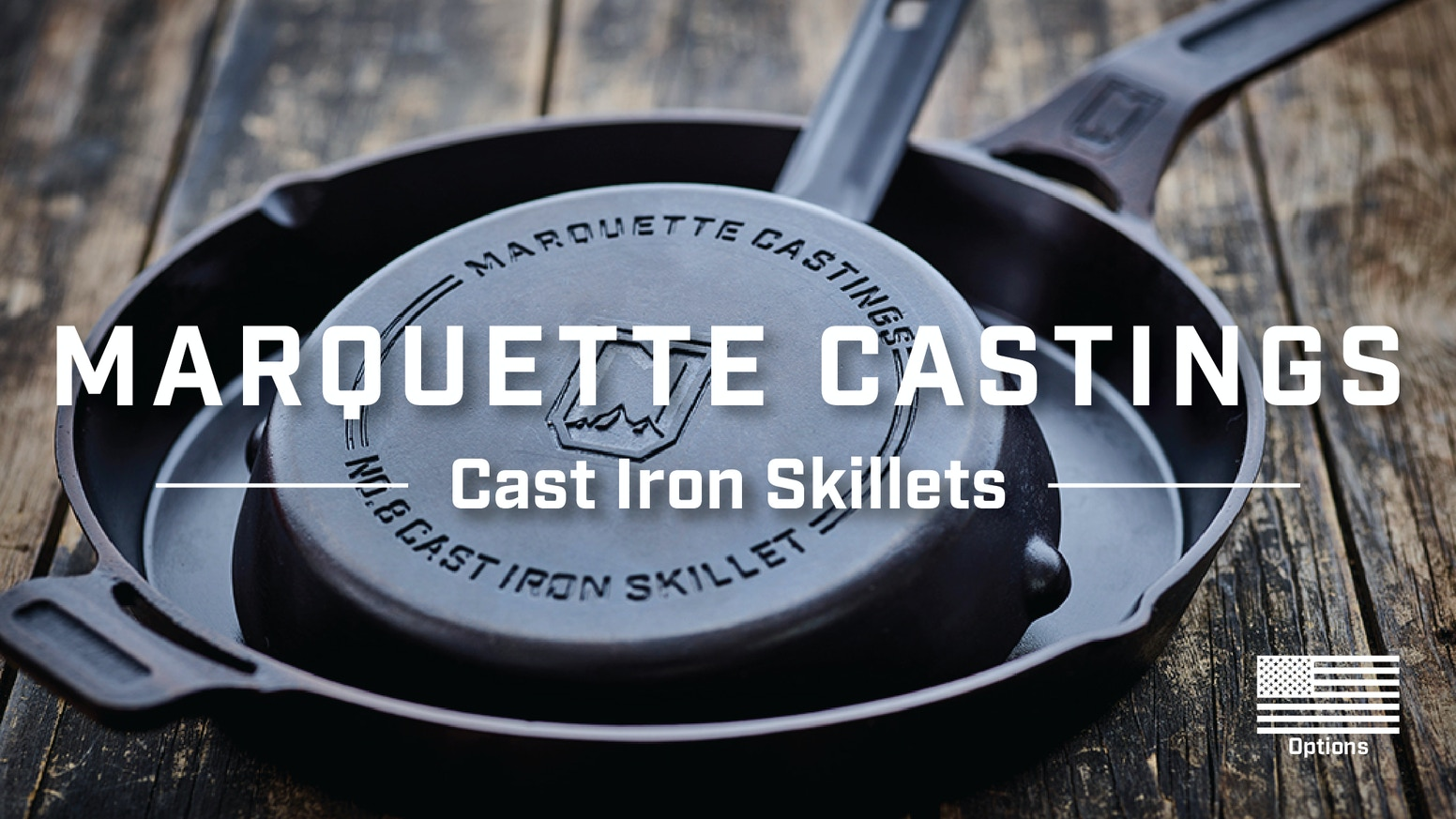 We have set out to create the best skillets ever made by combining a superior casting process with an unparalleled seasoning process.