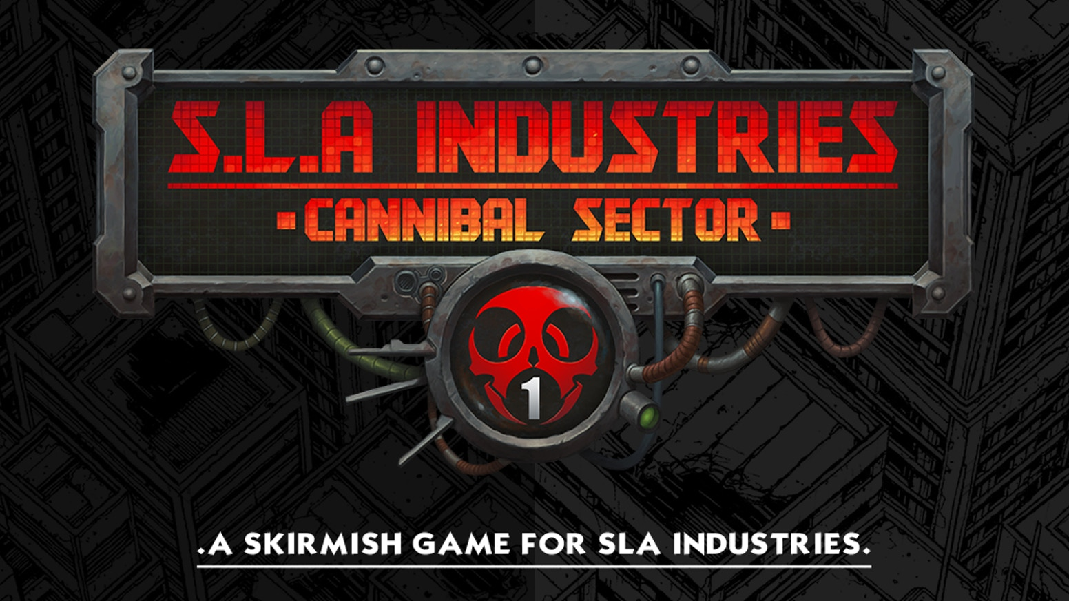 A new miniature game and RPG content for SLA Industries: Cannibal Sector 1.