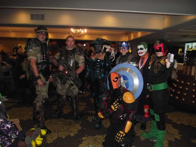 Cosplayers at FantastiCon 2015