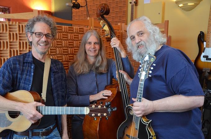 George Rezendes, Tracy & David Grisman. Photo: S. Ruffo