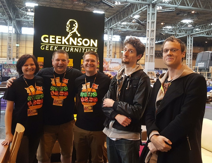 Team Geeknson at UK Game Expo