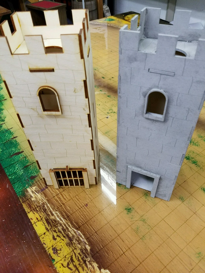 Double Dice Tower Ultimate GM Screen! by Andy