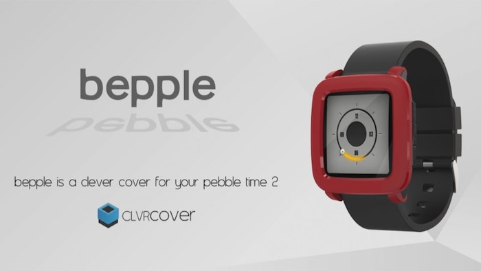 Bepple Covers for Pebble Time 2 now available for pre-order