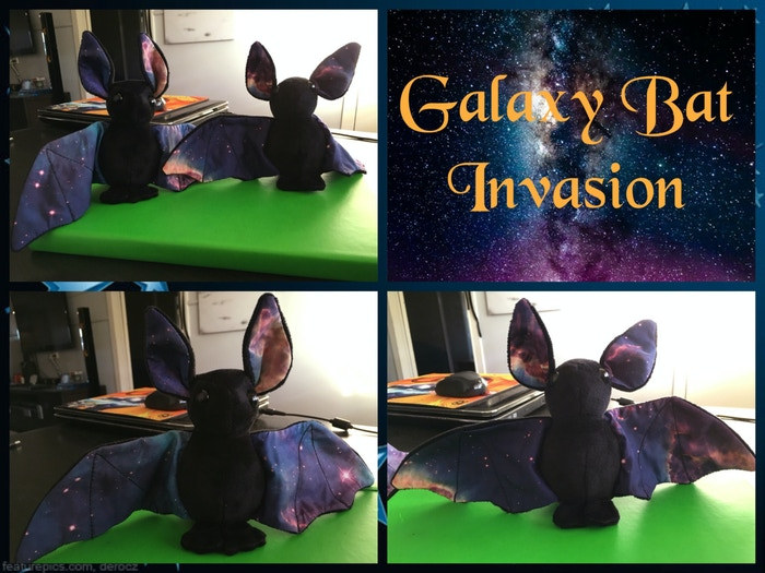 Galaxy Bat Plushies by BeeZeeArt — Kickstarter