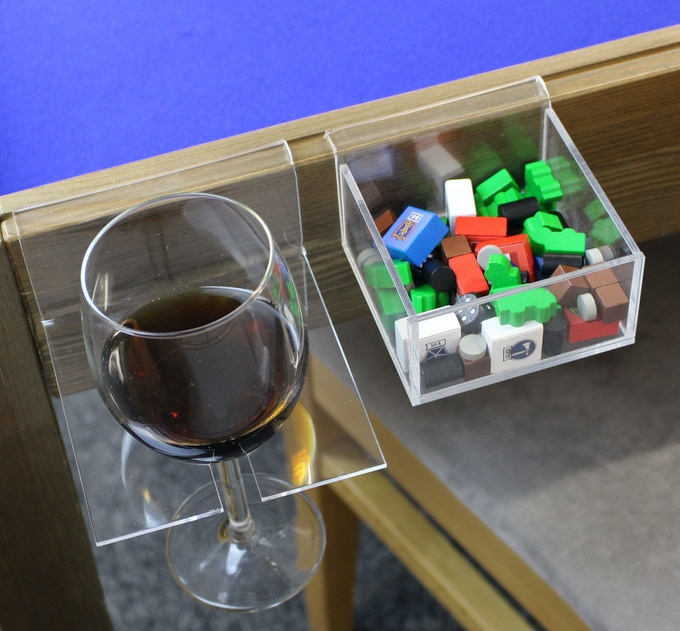 wine holder and counter holder
