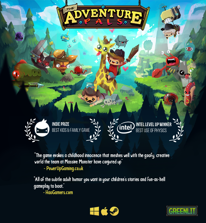 The Adventure Pals - A Story of Love, Giraffes & Hot Dogs by Massive