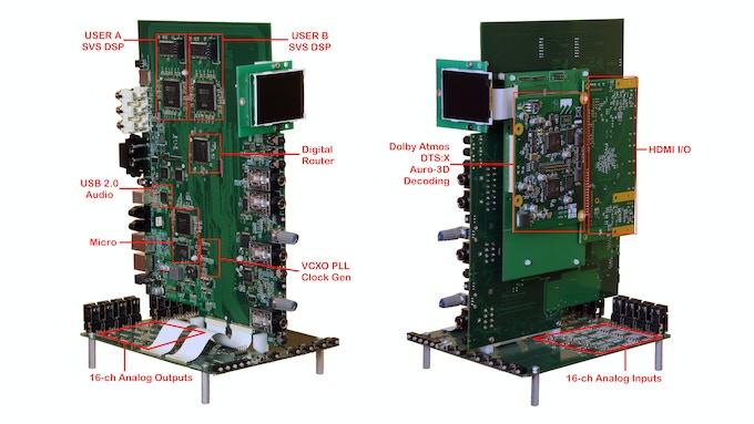 A16 internal electronics