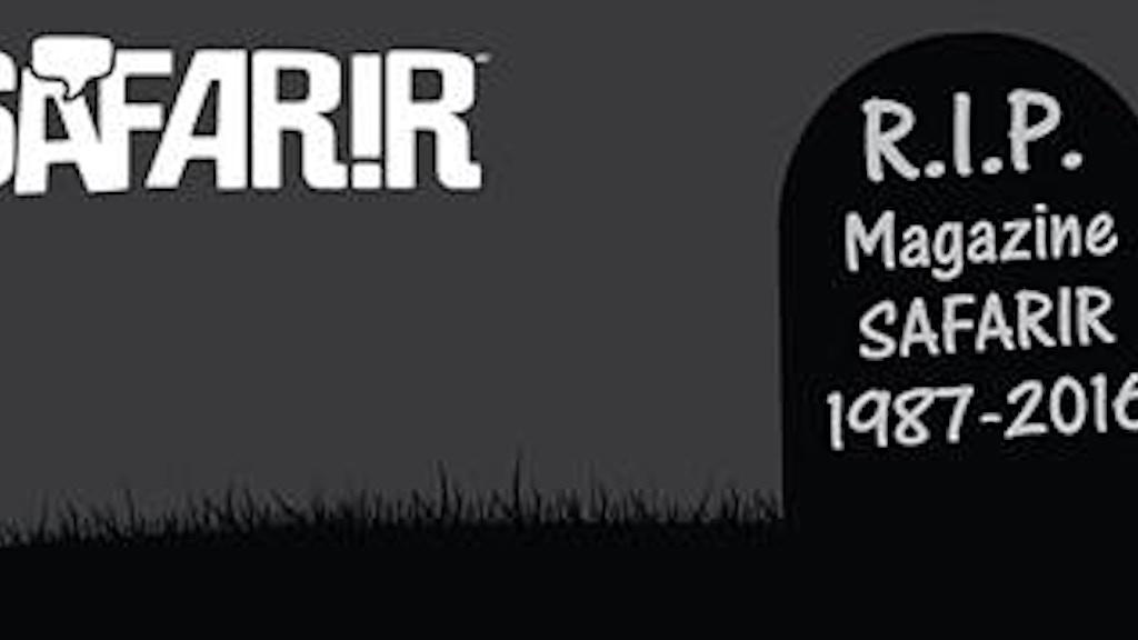 Project image for SAFARIR #300: Un dernier numéro pour la postérité!