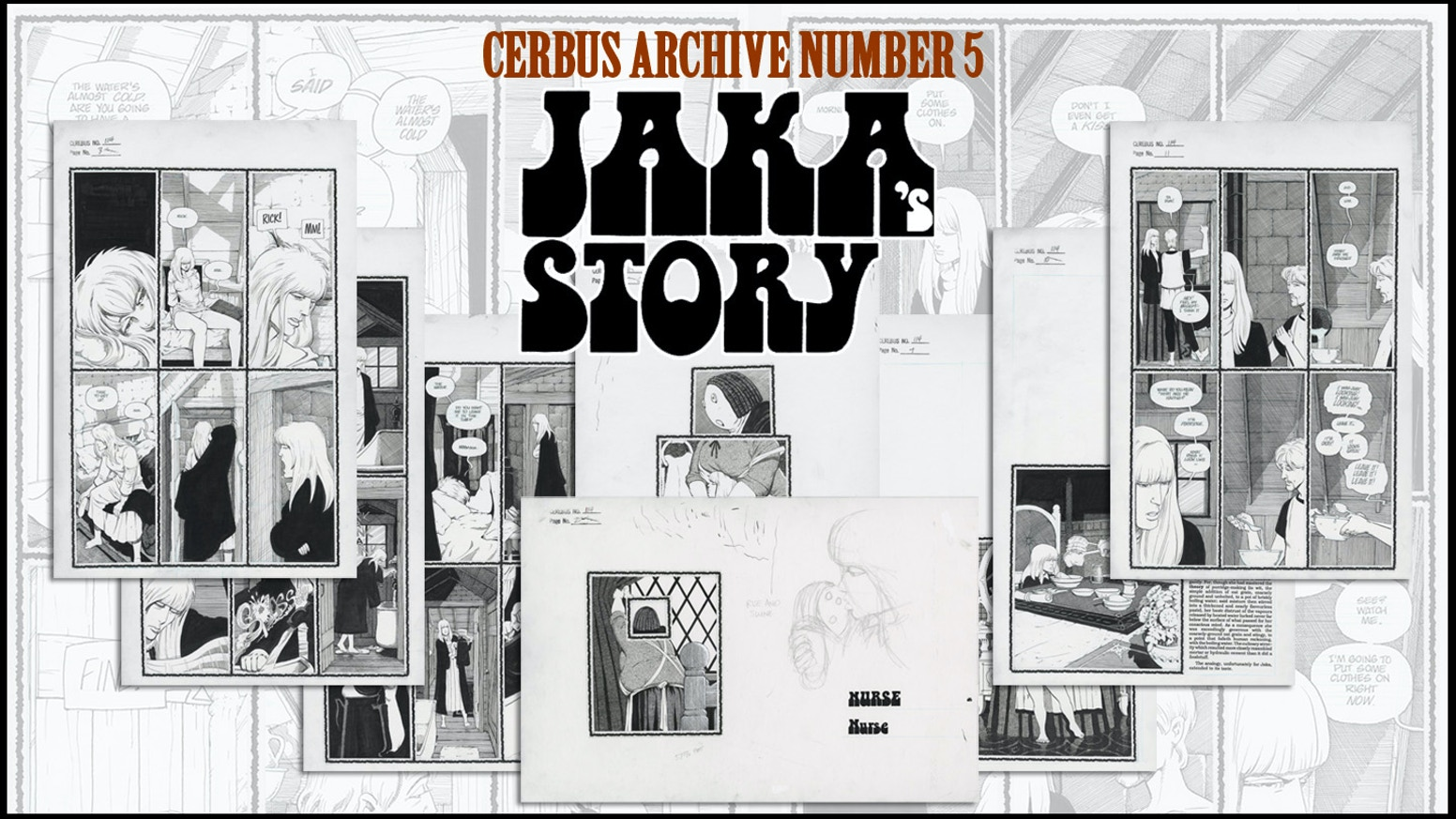 CAN5 - CEREBUS ARCHIVE NUMBER FIVE by Dave Sim — Kickstarter