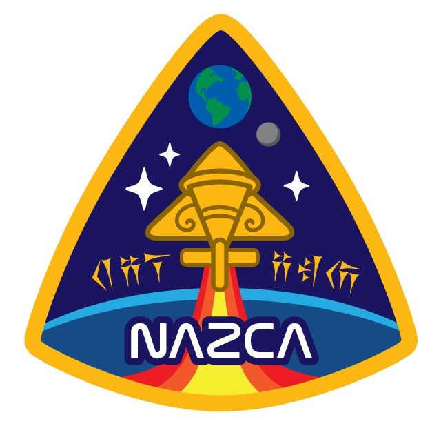 NAZCA Ancient Astronaut Officer's Insignia patch design (stretch goal bonus patch #3)