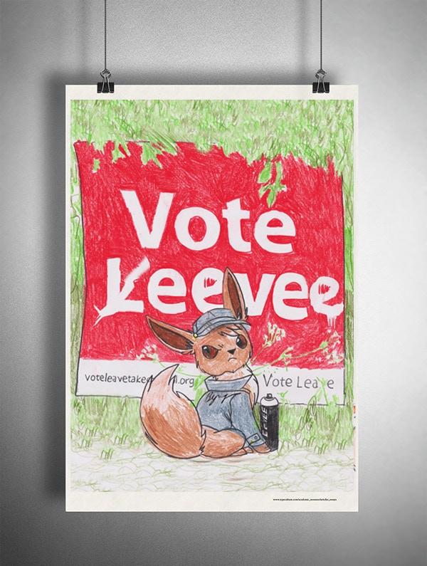 'Vote Eevee' Reward Artwork