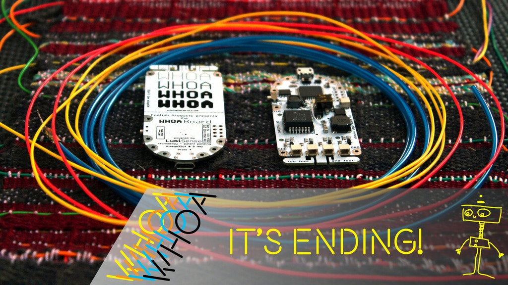 Whoa Board: Dream With Touch Sensing EL Wire, Panels, Paint project video thumbnail