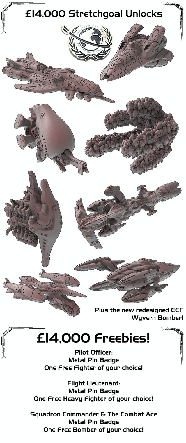 Shattered Void - The Sci-Fi Dogfighting Tabletop Wargame by