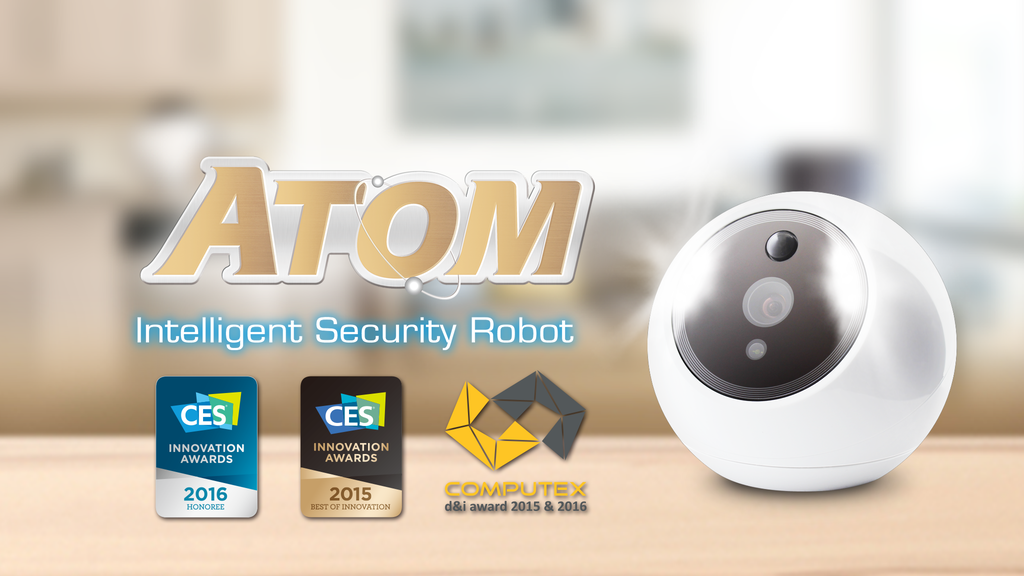 ATOM, First Intelligent Security Robot That Recognizes Faces project video thumbnail